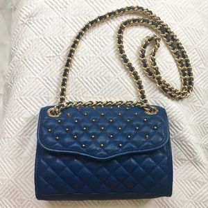 Rebecca Minkoff Quilted Stud Mini Affair Leather